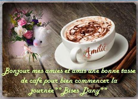Je Passe Vous Offrir Une Très Bonne Tasse De Café La