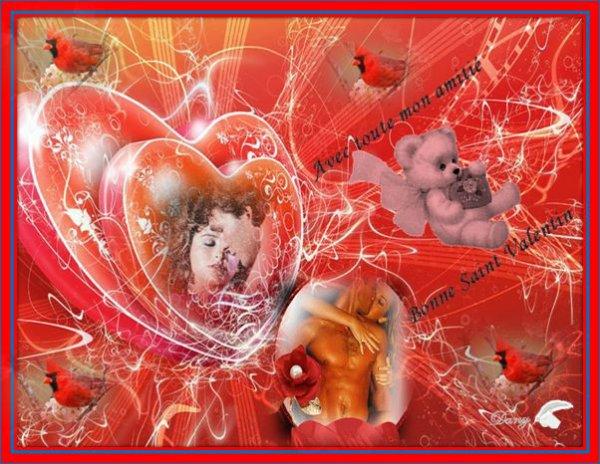 @ * Pour toutes mes amies et amis* Bonne ST Valentin *@