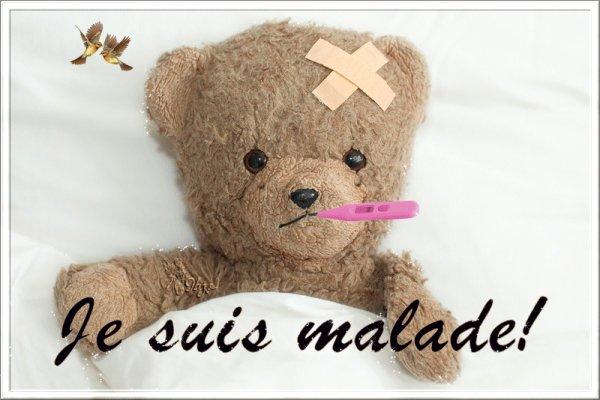 @Bonsoir mes amies et amis,petit coucou,pour vous dire que je suis Malade et c'est pour ca que je ne suis pas sur mon blog avec vous,j'ai une très très grosse Bronchitte@