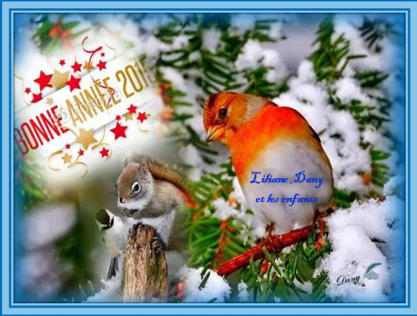*****Avec mon epouse et mes enfants nous passons via le net vous souhaiter mes amies et amis une très bonne année **2015**