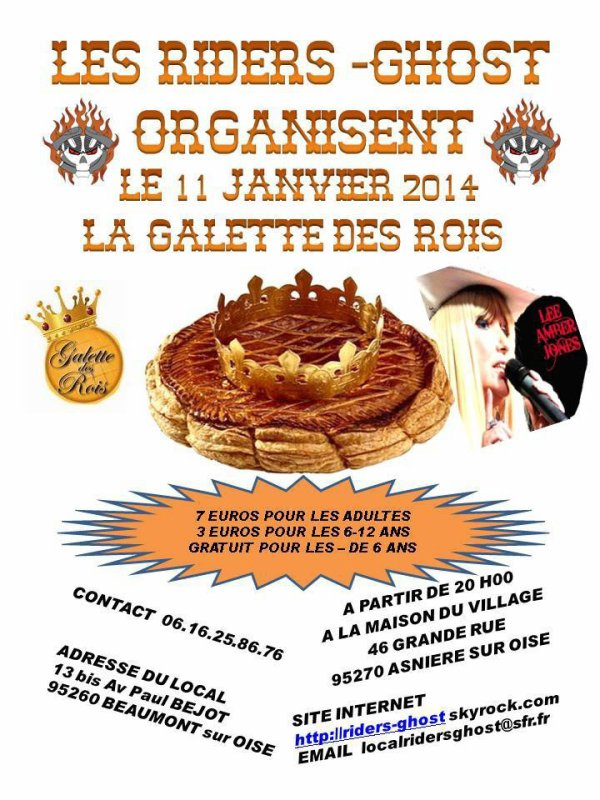 GALETTE DES RIDERS GHOST