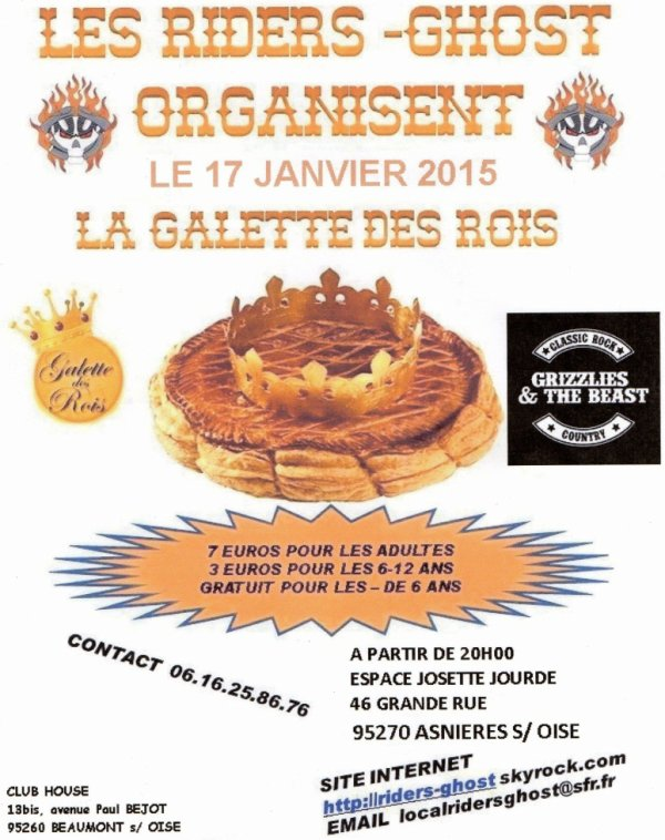 GALETTE CHEZ LES RIDERS-GHOST
