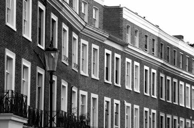 Londres en noir et blanc.