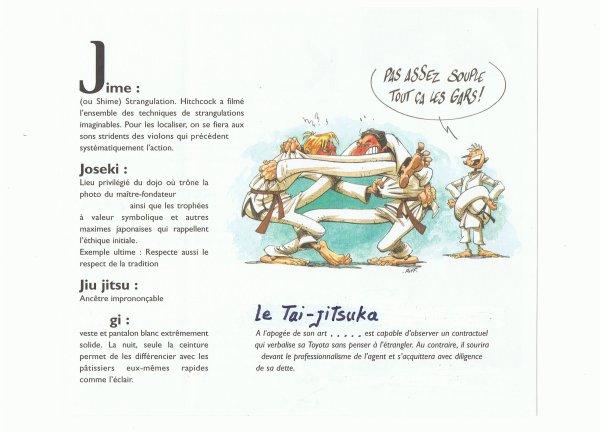 LEXIQUE  TAI JITSU.  j