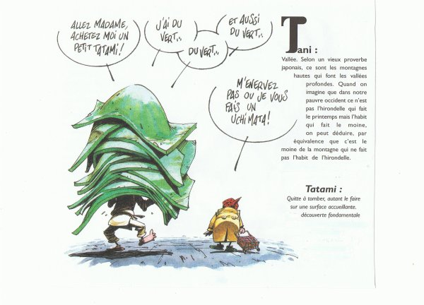 LEXIQUE  TAI JITSU. T