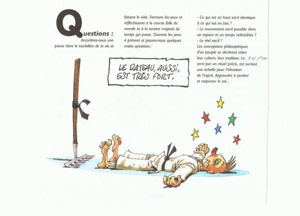 LEXIQUE  TAI JITSU. Q.