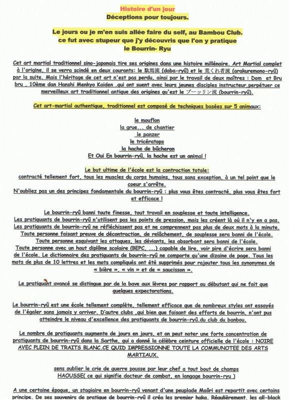 LE COUP DE GEULE DE CROCO.