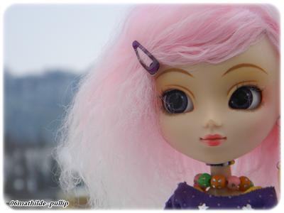 Mia in the snow ~