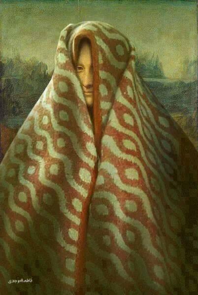 الموناليزا ....قتلها البرد