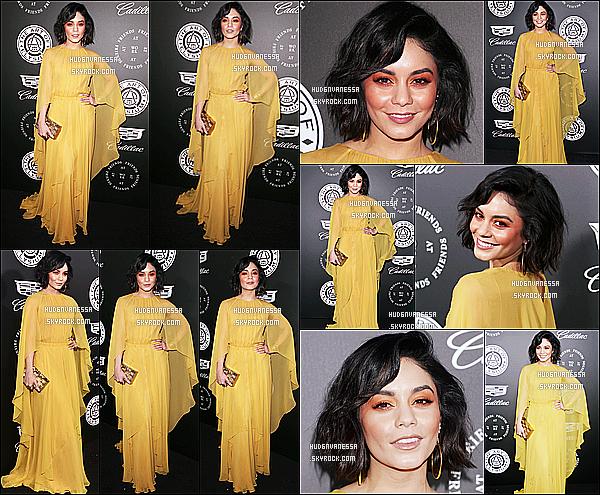 * 06/01/17 :    Vanessa a assisté à l'événement « The Art of Elysium's 11th Annual Celebration » dans Santa Monica. Vanessa est sublime. J'aime beaucoup la robe jaune qu'elle porte. Par contre je suis moins fan de son maquillage, ça ne l'a met pas en valeur. Donc Top.  *