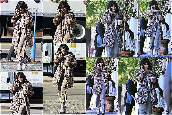 * 07/12/18 :    Vanessa a été vue une nouvelle fois, lorsqu'elle quittait le « Blue Bottle Coffee » qui se situe à Los Feliz. Vanessa s'est rendue comme tous les jours à son café habituel. Elle est belle. Par contre je ne suis pas fan de la tenue qu'elle porte. Donc Flop pour moi.  *