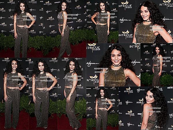 * 29/04/16 : Vanessa  était présente lors de l'inauguration de la boîte de nuit « Intrigue » - situé dans Las Vegas. Vanessa était vraiment magnifique. Ses cheveux sont magnifiques comme ça et le maquillage lui va bien. J'aime beaucoup sa tenue. Top pour moi.  *