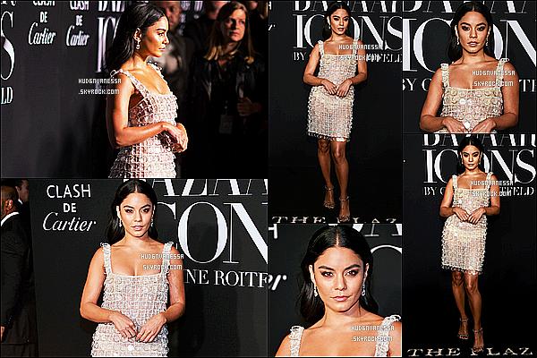 * '•-06/09/19-' : Vanessa H. était présente à l'événement « Harper's Bazaar Icons », lors de la Fashion Week de New York. Vanessa est vraiment magnifique. Je suis fan de sa mise en beauté. La tenue qu'elle porte est jolie aussi et lui va bien. Un Top pour moi ! *