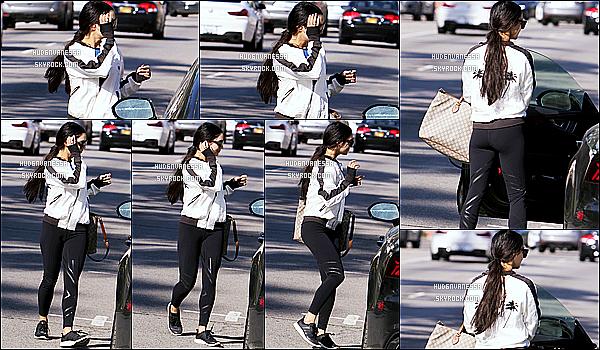* 24/03/17 : Vanessa a été repérée lorsqu'elle quittait la salle de sport « Training Mate » situé dans Studio City. Dommage qu'on ne voit pas vraiment le visage de Vanessa sur les photos. En tout cas j'aime beaucoup sa tenue de sport - C'est un Top pour moi !  *