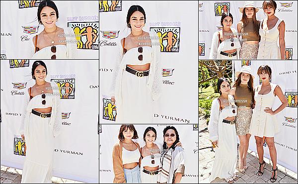 * 13/05/17 : Vanessa H. a assisté à l'événement « Best Buddies Mother's Day » - qui se déroulait dans Malibu. Vanessa était accompagnée de sa mère Gina et de sa soeur Stella. Vanessa est resplendissante. Je suis fan de sa tenue. Je lui donne un beau Top !  *