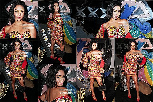 * 08/06/17 : Vanessa H. a assisté au défilé de la collection printemps / été de  « Moschino » - dans Los Angeles . Vanessa était ravissante. Elle a posé avec plusieurs stars dont Sarah Hyland et Joe Jonas. Je suis assez fan de sa tenue mais pas plus que ça - Bof.  *