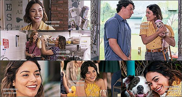 *  Découvrez les stills - et les Behind The Scene de Vanessa pour le film - « Dog Days »  !   *