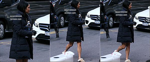 * 20/11/17 :    Vanessa H. a été repérée quand elle arrivait sur le tournage du film « Second Act » - situé dans New York. Vanessa tournait une nouvelle scène avec Jennifer Lopez et Treat Williams. C'est dommage qu'il n'y ait pas plus de photos que ça. Vanessa H. est belle.  *