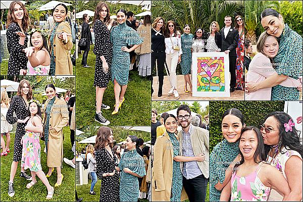 * 12/05/17 :    Vanessa était présente à l'événement « Best Buddies Mother's Day Brunch » se déroulant dans Malibu. Vanessa est vraiment ravissante. J'aime bien sa coiffure et son maquillage. Elle était présente avec sa mère Gina. J'aime bien la tenue qu'elle porte. Top.  *