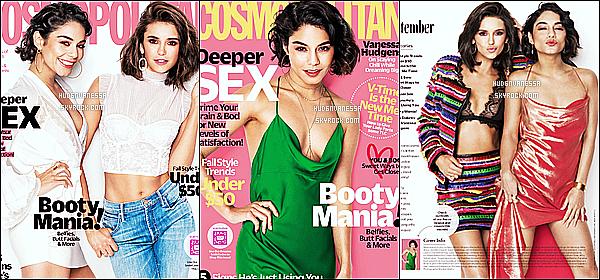 *  Découvrez un photoshoot avec Nina Dobrev - pour le « Cosmopolitan Magazine » !   *