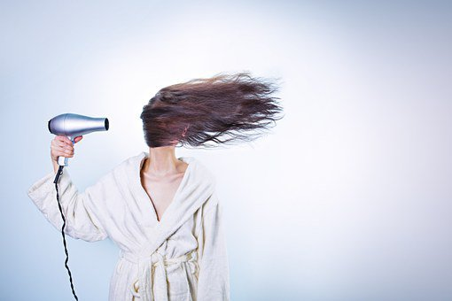 What do you use to dry your hair?