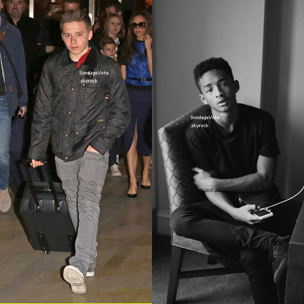 Brooklyn Beckham VS Jaden Smith