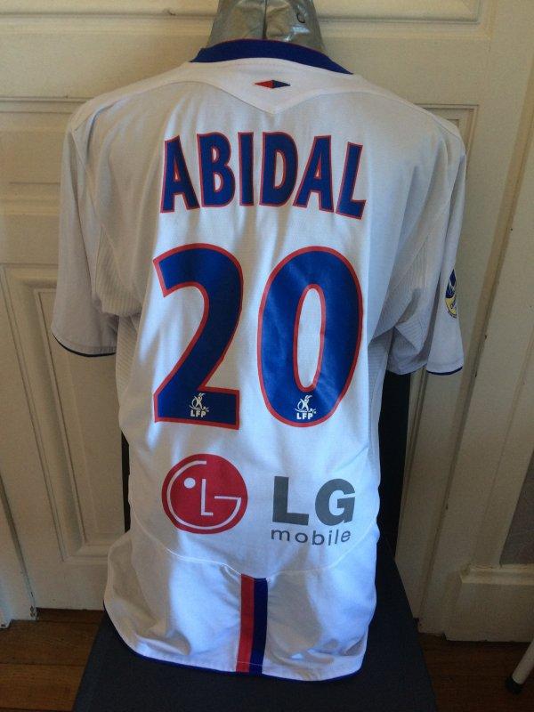 Maillot porté / préparé Éric ABIDAL 2005-2006