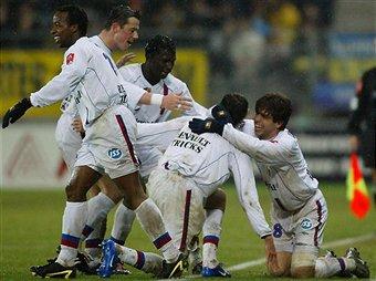 Maillot porté JUNINHO saison 2003-04 contre Sochaux