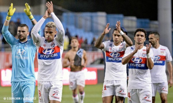 Maillot porté GORGELIN sur le banc lors de Troyes-OL (0-5)