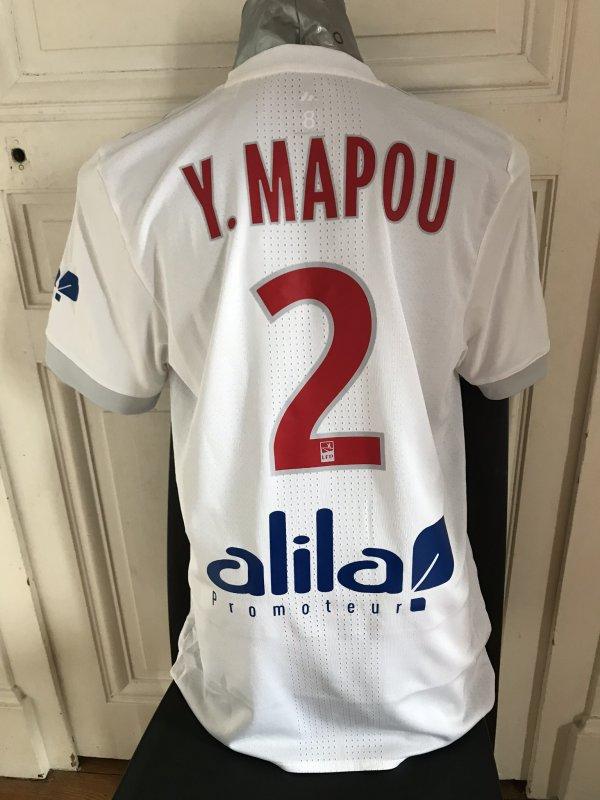 MAILLOT PORTE SUR LE BANC PAR MAPOU LORS DE NICE-OL (0-5)