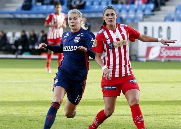 Maillot porté Ada HEGERBERG contre AVALDSNES et L'AJAX D'AMSTERDAM