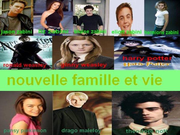 Nouvelle famille et vie de DragoHermione62