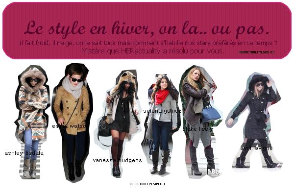 Rubrique : Mode
