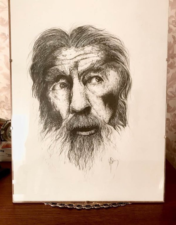 Gandalf,en hommage à ce grand Tolkien.