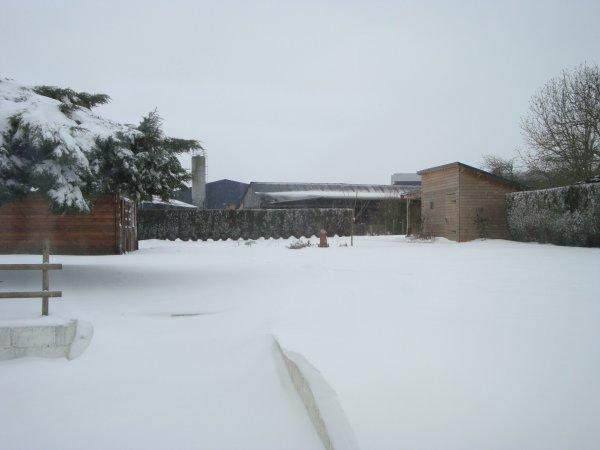 Woincourt transformé en Pôle Nord