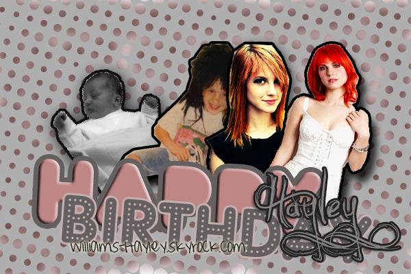 Aujourd'hui notre belle Hayley fête ses 23 ans ♥  Qu'est ce qu'on dit ? :D