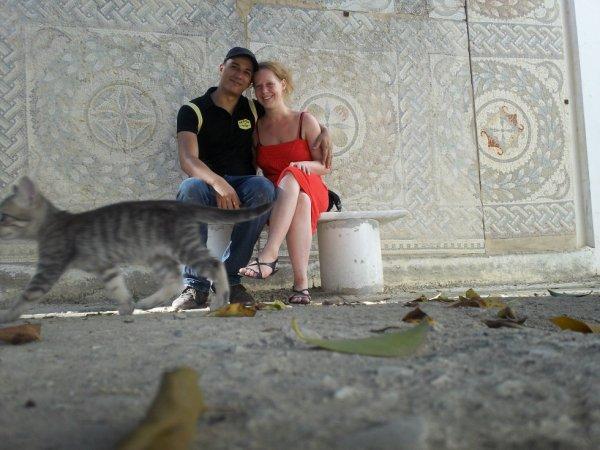 moi et mon homme et les chat lol