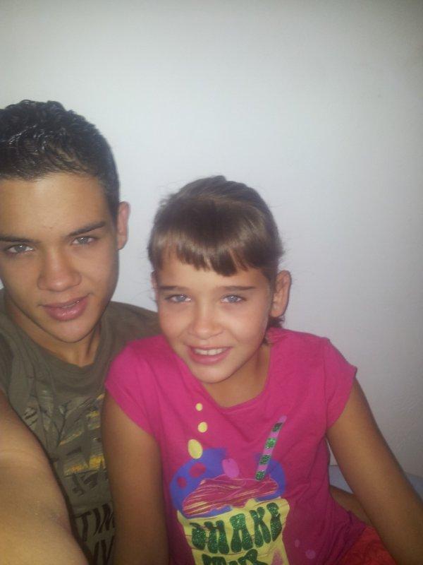 Moi et ma soeur :D