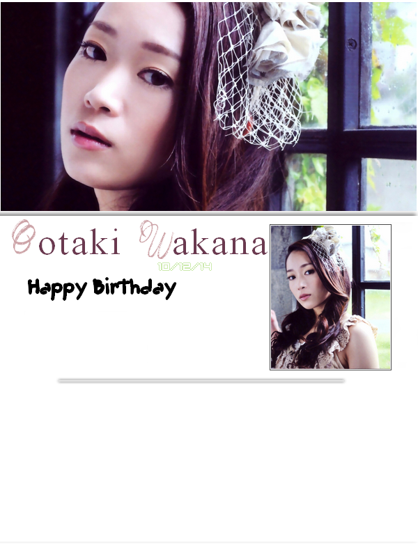 Happy Birthday Wakana