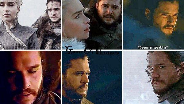 THEORIE/META ❧ Jon Snow & Daenerys Targaryen : pire couple de la série ! Et non, 'duty is the death of love' n'est pas à leur sujet - du moins pas de la façon qu'a voulu nous faire croire Tyrion et la série (Analyse des saisons 7 et 8 de GOT)