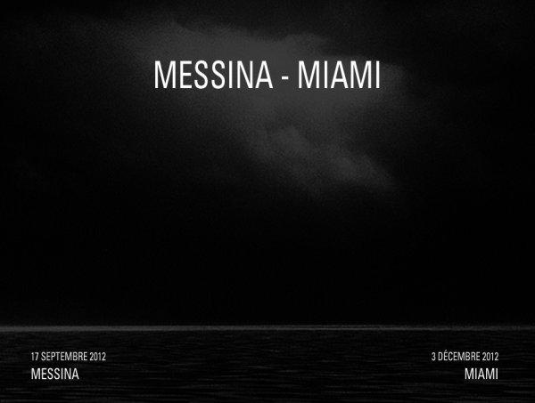 NOUVEAUX ALBUMS: Messina le 17 Septembre 2012 et Miami le 18 Mars 2013!
