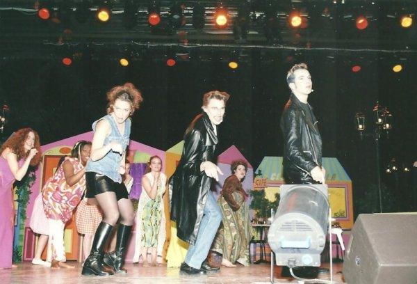 7 DECEMBRE 2002 :Mïcky seconde participation à une comédie musicale