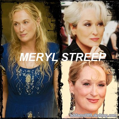 Biographie de Meryl Streep.