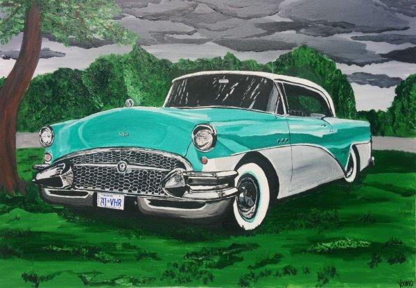 automobile américaine vintage