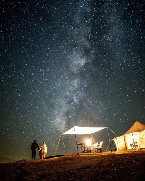 Scarabeo Camp ❤🌌🌠 south of Morocco
