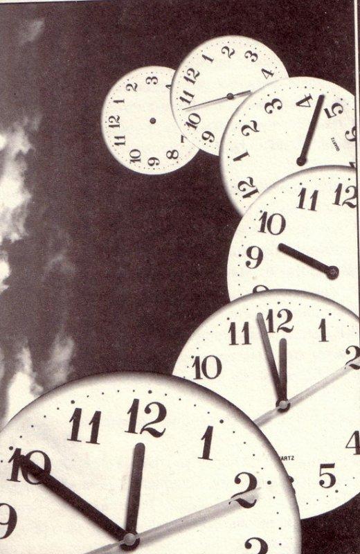 Je vie dans le passé en attendant le futur, car le présent n'est rien.
