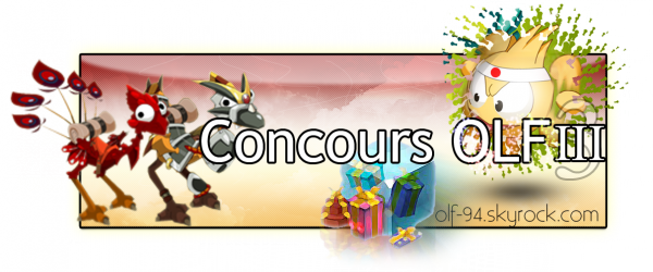 New's/CONCOURS OLF III : Nouvelle règle !