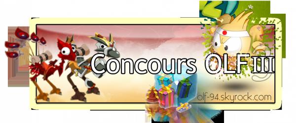 Résultat du CONCOURS OLF III/ New's
