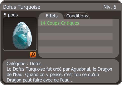 New's Turquoisé bis ?/ Dofus HabStrait