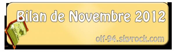 BM de Novembre 2012